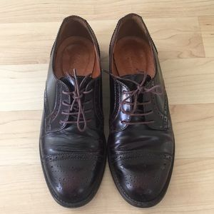 Madewell Keaton oxfords in oxblood size 6